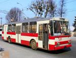 В Симферополе второй день не ходят троллейбусы