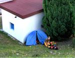 В парке Ялты у москвичей украли палатку с вещами и документами