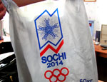 В екатеринбургских магазинах продают незаконную продукцию с символикой сочинской Олимпиады-2014 (ФОТО)