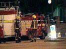 Пожар в Москве, люди выпрыгивали из окон