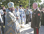 Бывший командующий ОГРВ Борис Сергеев награжден орденом преподобного Паисия Величковского