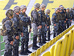 Тираспольский спецназ готовится к матчам Лиги Европы