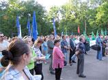 В Подмосковье разогнали акцию протеста защитников Химкинского леса