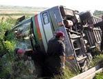 В автобусной аварии в Египте ранены 13 россиян