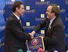 Президент УЕФА Мишель Платини посетил Кишинев