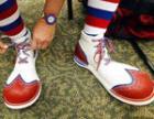 Англичане запретили российскому клоуну надевать туфли 48 размера
