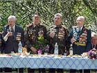 Для приднестровских ветеранов российские военные провели традиционную «землянку»