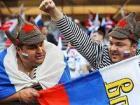 В Москве празднуют победу сборной России